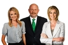 TVNZ presenters Petra Bagust, Mark Sainsbury and Wendy Petrie were part of TVNZ's strong performance. Photo / Supplied