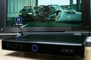Sky TV's high definition MySky recorder. Photo / Brett Phibbs