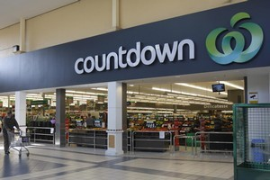 Woolworths has lifted its New Zealand supermarket earnings as the Australian company continues to re-brand the outlets as Countdown stores.   File photo