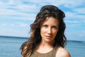 Evangeline Lilly is no longer 'Lost', but found...on the Hobbit set. Photo / supplied