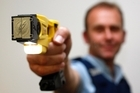 Numbers released by Police Minister Judith Collins this week showed that 37 of the 88 people tasered by police in the 11 months to August were 'judged to be experiencing a mental health issue'. Photo/ Christine Cornege