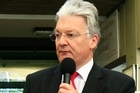 Peter Dunne got a positive response when he mentioned 'common sense' in 2002. His TV performances were credited with getting seven other United Future candidates into Parliament. Photo / Martin Sykes