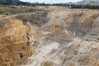 The Newmont Waihi Gold company's open pit Martha Mine in Waihi. Photo / Richard Robinson