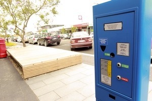 Auckland is installing 'pay-by-plate' parking machines. Photo / APN