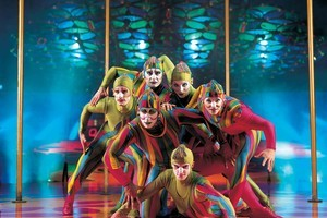 One of Cirque du Soleil's most colourful shows, Saltimbanco, opened at the Vector Arena in Auckland. Photo / Supplied