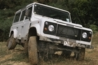 The Land Rover Defender Td5. Photo / Supplied