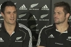 The All Blacks discuss their views on the World Cup team announcement at a press conference in Brisbane following the naming of the squad.