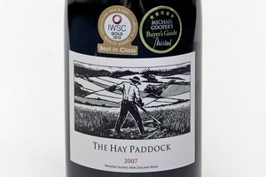2007 The Hay Paddock, $72. Photo / Natalie Slade