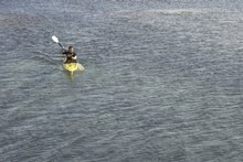 The search is continuing for a 25-year-old German kayaker on Lake Hawea.  Photo / File