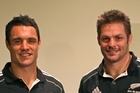 All Blacks captain Richie McCaw and first five-eighths Dan Carter say that while the weight of the nation is a heavy load to bear, it wasn't something the team should fear. Photo / Getty Images
