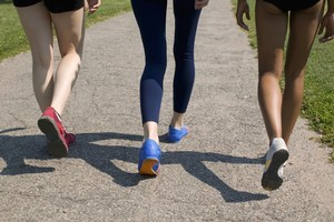 Walking is a good way to move from couch potato status to a regular exerciser. Photo / Thinkstock