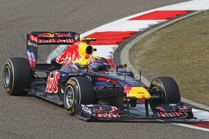 Mark Webber of Australia and Red Bull Racing. Photo / Getty Images