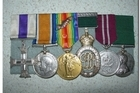Some of the 843 medals stolen from the Waiouru National Army Museum. Photo / supplied