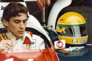 The movie depicts Senna right down to his last seconds. Photo / Supplied