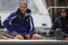 Martin Johnson believes substance rather than style is the winning formula for the Rugby World Cup. Photo / Richard Robinson