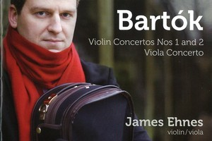 Bartok Violin and Viola Concertos. Photo / Supplied