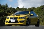 The HSV GTS E3 is full of smart technology. Photo / Jacqui Madelin