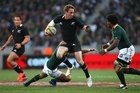 South African coach Peter de Villiers says the All Blacks are the team to beat. Photo / Getty Images