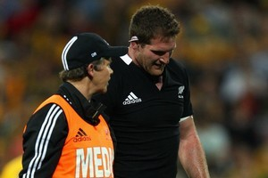 Kieran Read is almost as important as Carter and McCaw. Photo / Getty Images