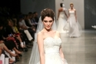Model Derya wears a look from the Vinka collection in the New Zealand Weddings bridal fashion show. Photo / Babiche Martens