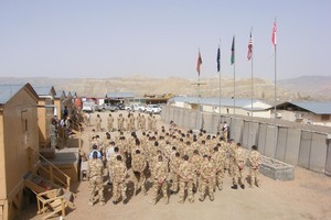 Projects undertaken by NZ's Provincial Reconstruction Team in Bamiyan are described as not sustainable. Photo / US Army