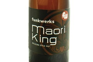 Maori King beer. Photo / Supplied