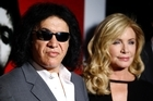 Gene Simmons and Shannon Tweed. Photo / AP