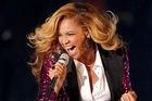 Beyonce made the announcement at the MTV Video Music Awards. Photo / AP