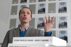 Author Nicky Hager. Photo / Mark Mitchell