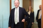 Act leader Don Brash is not currently in a position to confirm the number three spot. Photo / Mark Mitchell