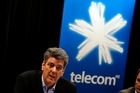 Telecom CEO Paul Reynolds's has announced he will leave the telco after it splits into two companies.