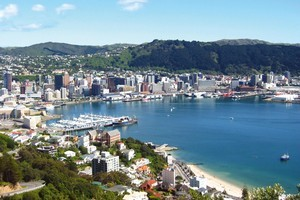 Free wifi is now available in Wellington's outdoor areas from Westpac Stadium to the Embassy cinema, encompassing the waterfront, the Golden Mile and Cuba Street. File photo / NZ Herald