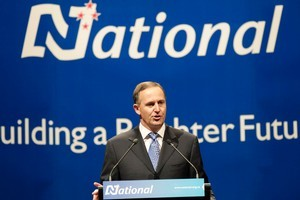Prime Minister John Key says leaving wage rates to the market could mean some very low wages indeed. Photo / Mark Mitchell