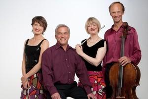 The NZ String Quartet. Photo / Supplied