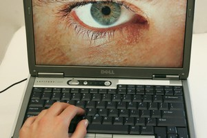 You are being watched - The authorites are watching data being downloaded from the internet. Photo /Brett Phibbs