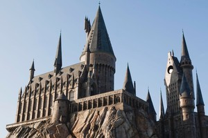 Hogwarts School of Witchcraft and Wizardry is the primary setting for most of the Harry Potter series. Photo / Supplied