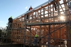 Building consents for new homes rose 6.3 per cent in July following a fall of 4.3 per cent in June.  Photo / Katie Cox