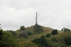 The summit and obelisk on One Tree Hill, at Cornwall Park, Auckland. Photo / Glenn Jeffrey