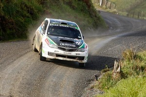 Hayden Paddon has set off for Australia to compete in the PWRC's fifth round. Photo / John Stone