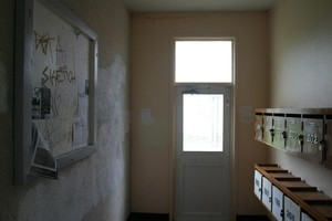 Inside Newtown Park Flats, where an elderly man had died up to a year before his discovery. Photo / NZ Herald