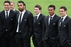 The All Blacks prepare for the Rugby World Cup and talk about the pressure on the side to perform in front of their home fans.