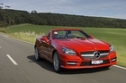 Mercedes-Benz' new SLK has manned up with a more aggressive stance and style. Photo / Supplied