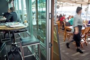 Billfish Cafe, Westhaven. Photo / Natalie Slade