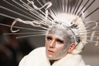 A model wears a creation by World at Fashion Week 2011. Photo / Getty Images