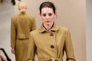 A model wears a creation by Ingrid Starnes. Photo / NZ Fashion Week