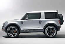 Land Rover's DC100 points to the future of the 65-year-old Defender. Photo / Supplied