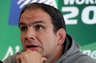 England coach Martin Johnson talks about the pressure on teams ahead of the Rugby World Cup.