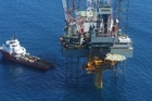 A platform at the Kupe gas field, off the Taranaki coast. Photo / supplied
