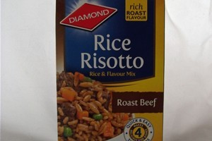 Diamond Rice Risotto Roast Beef. Photo / Supplied