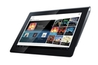 Sony's new Tablet S will go on sale in the US this year. Photo / Supplied